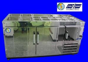 congeladores refrigeradores barras de trabajo