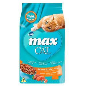 Alimento Total Max Cat Sabores De Mar 1 Kg Para Gato Total M