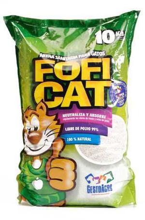 Arena Sanitaria Para Gato Fofi Cat X 10 Kilos