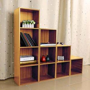 Librería 3, Almacenaje Blanco Estante Muebles De Madera