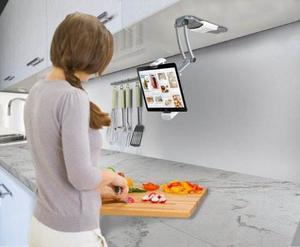 Soporte Para Tablets Cta Digital En La Cocina