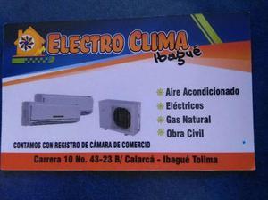 venta y mantenimiento de equipos de aire acondicionado