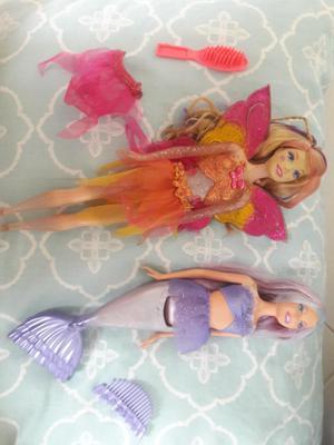 Barbie Hada Y Barbie Sirena