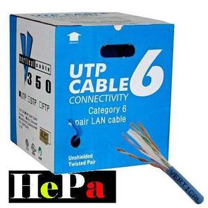 Caja De Cable Para Red Utp Cat 6e Tipo A 305m