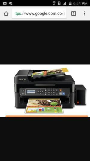 Impresora Epson Multifuncional Wf
