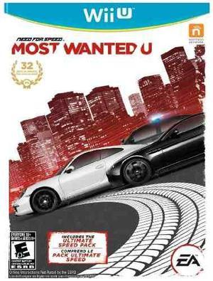 Juego Need For Speed Most Wanted U - Nintendo Wii U