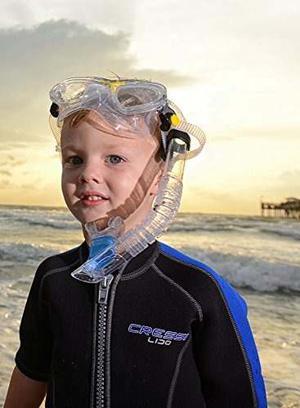 Snorkel De Buceo Para Niños Cressi Color Trasparente
