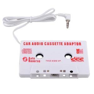 Audio Coche Cassette Cinta Adaptador Aux Cable 3.5mm Jack