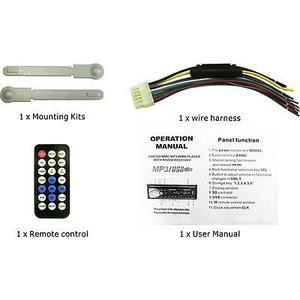 Coche Bluetooth De Audio Fm/usb/sd/aux Mp3 Reproductor