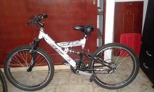 se vende bicicleta GW en buen estado general, garantizada.
