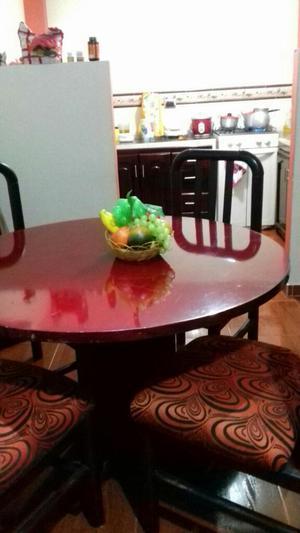 Comedor expandible 4 puestos vidrio bogot posot class for Comedor 8 puestos bogota