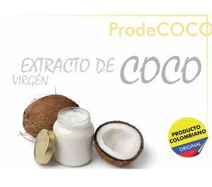 Extracto de Coco Cuidado del Cabello