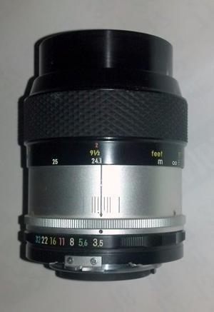 Lente Full Frame Macro Nikon 55mm F3.5 Foco Manual.