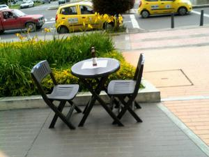 Sillas plasticas rimax posot class - Mesas y sillas plastico ...