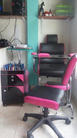 Mueble de Manicure Y Pedicure