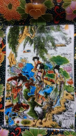 Vendo O Permuto Cenisero Porcelana China