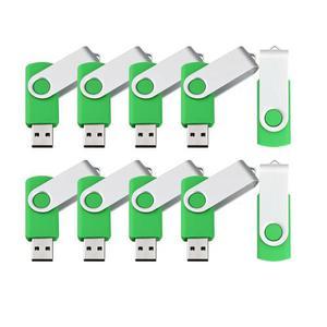 10 X 1gb / 2gb / 4gb / 8gb Usb Flash Drive Plegable