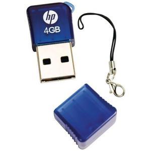 Hp V165w 4 Gb Usb 2.0 Flash Drive P-fd4gbhp165-ef (azul)