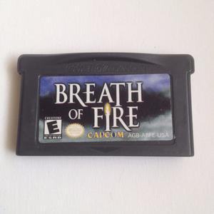 Juego Breath Of Fire Nintendo Ds - Game Boy Advance