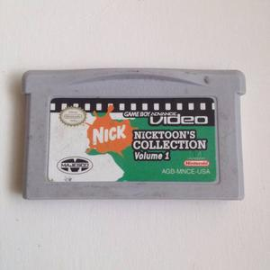 Juego Nicktoons Colletion 1 Nintendo Ds - Game Boy Advance