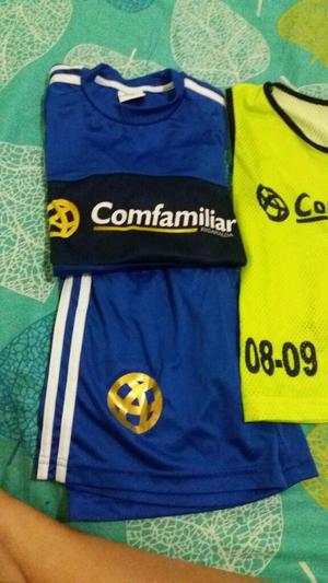 Uniforme de Futbol Comfamiliar