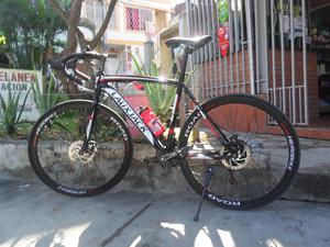 bicicleta de ruta laux jack