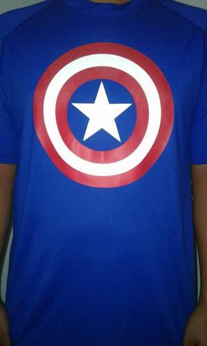 vendo Camiseta Under Armour Capitán América