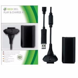 Carga Y Juega Xbox 360 Cargador Y Cable