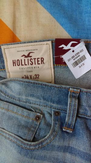 Jean para hombre Hollister Skinny Original W34 x L32