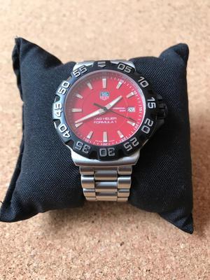 Reloj Tag Heuer Formula 1 Rojo