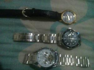 Relojes Omega, Rolex, Sandoz