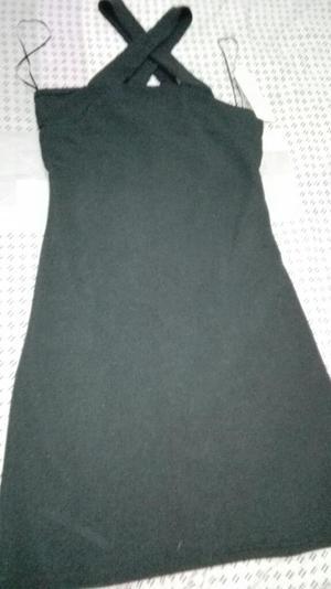 Vestido Negro Marca Ela Talla 6 Nuevo