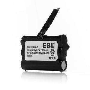 3.6v 700mah Batería Para Radios De 2 Vías Motorola