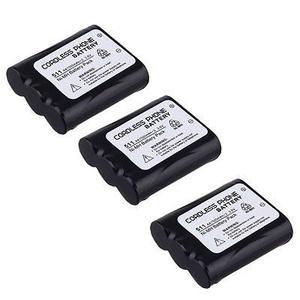 3 X 3.6v mah Batería Para Panasonic Kx-tg