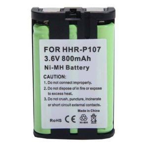 800 Mah 3.6v Ni-mh Batería Para Panasonic Hhr-p107