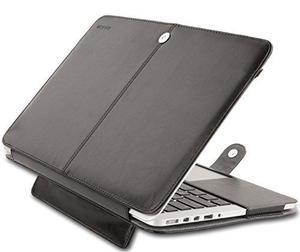 Caso De Retina Mosiso Macbook Pro 13, Premium Pu Cuero