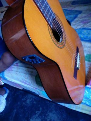 Guitarra Yamaha C40 con Amplificador