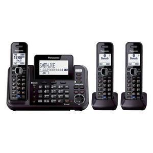 Kx-tga950b 3-auricular Inalámbrico / Alámbrico Sistema +