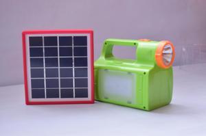 Linterna doble funcional 100 con energía solarr