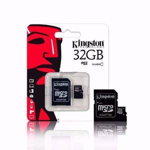 Memoria 32 Gigas Micro Sd Kingstone 32gb Clase 10 Rapida