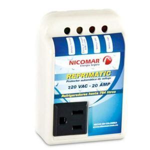Protector De Voltaje Neveras Y Refrigeradores Refrimatic
