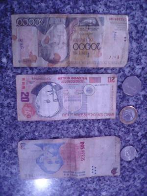 Remate de Monedas Y Billetes de Antigued