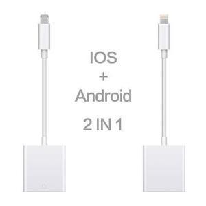 Sd Tarjeta Lector De Cámara Para Iphone5 5s 6 6s Plus Ipad
