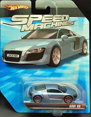 Hot Wheels Máquinas De Velocidad Audi R8 Azul 164 Escala