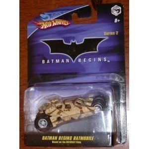 Mattel Hot Wheels 1:50 Batman Begins Batmobile