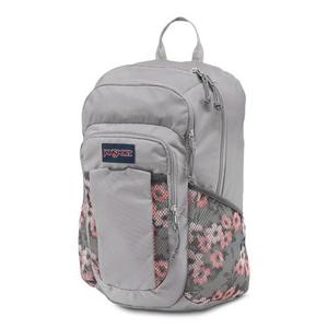 Morral Jansport Node Gris Con Coral Para Mujer