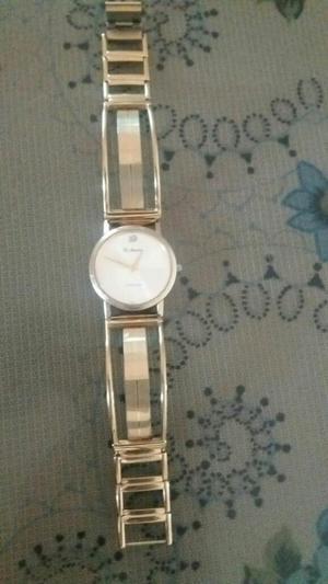 Reloj Di Mario Chapado en Oro Original