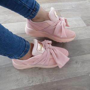 Tenis Puma palo de rosa