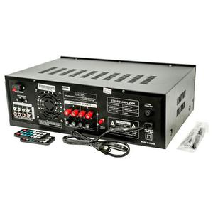Amplificador Sonido Radio Pro Dj Rab Negro 300w