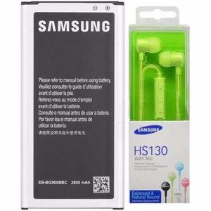 Bateria Samsung Galaxy Alpha + Audifonos Hs130 Env Gratis